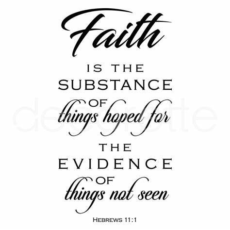 Hebrews 11-1 Faith by Paul