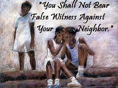 not bear false witness 1