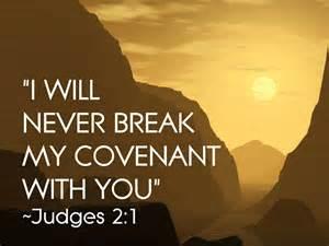 Never breaks covenant