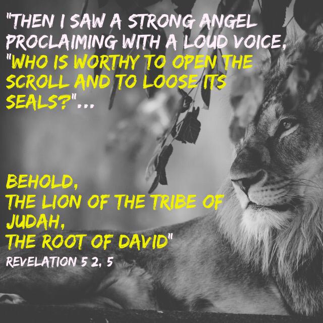 tHE WORTHY LAMB LION OF JUDAH